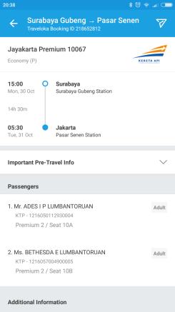 Tiket Kereta Surabaya _ Jakarta